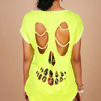 Glow Skull Top