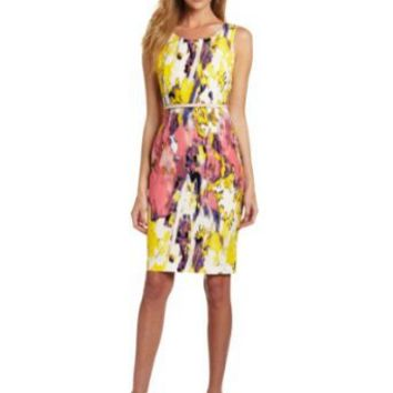 Calvin Klein Women's Printed Shift Dress