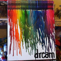 Melted Crayon Art- CUSTOM MADE to ORDER
