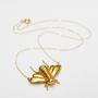 Luna & Curious — Gold Bee Necklace