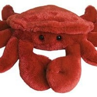 Cranky the Stuffed Crab Plush Mini Flopsie By Aurora at Stuffed Safari