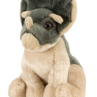 Stuffed Triceratops 5 Inch Itsy Bitsy Plush Dinosaur by Wild Republic at Stuffed Safari