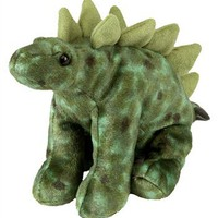 Stuffed Stegosaurus Mini Cuddlekin by Wild Republic at Stuffed Safari