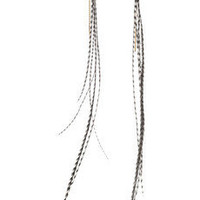 Jeeyun Ha Designs | 14-karat gold-vermeil feather earrings | NET-A-PORTER.COM
