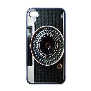 Apple iPhone Case - Retro Camera Olympus Vintage - iPhone 4 Case Cover