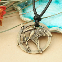 The hunger games necklace with Katniss arrow pendant- The Hunger Games Inspired