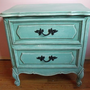 Blue French Boutique Dresser or Night Stand