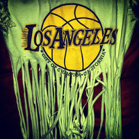 LA Lakers Fringe Shirt