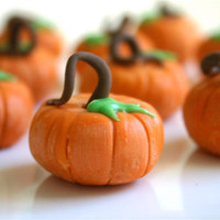 Edible Chocolate Filled Candy Pumpkins For by andiespecialtysweets