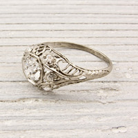 .70 Carat Old European Cut Diamond Antique Engagement Ring | Erstwhile Jewelry Co.
