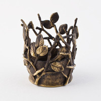 Twig Tea Light Holder :: Michael Michaud Table Art