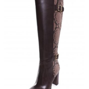 Michael Kors Cidney Tall Boot in Chocolate