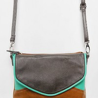 Cooperative Tri-Tone Crossbody Pouch