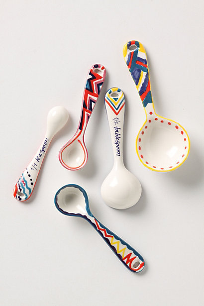 Zesty Measuring Spoons