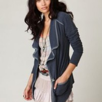Free People Geo Knit Blazer at Free People Clothing Boutique