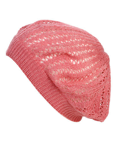 Lurex Open Weave Beret | Shop Accessories at Wet Seal