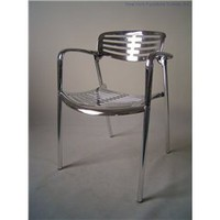 Stack-66 (Set Of 4) Outdoor Chair, Modern Outdoor Chair Set, Patio And Outdoor Furniture: Nyfurnitureoutlets.com