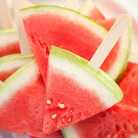 Food and Drink / Watermelon on a stick. Why didn&#x27;t I think of this