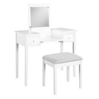 Vanity Set (White) - Bed Bath & Beyond