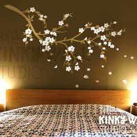 Vinyl Wall Sticker Decal Art Cherry Blossom Dreams by KinkyWall