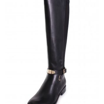 Michael Kors Arley Knee High Riding Boot in Black