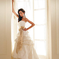 Ivory Bridal Dresses Wedding Growns