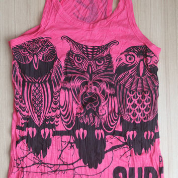 Women's size S Cute Yoga Outfit tank top Ganesha Buddha Tshirt Om Sign
