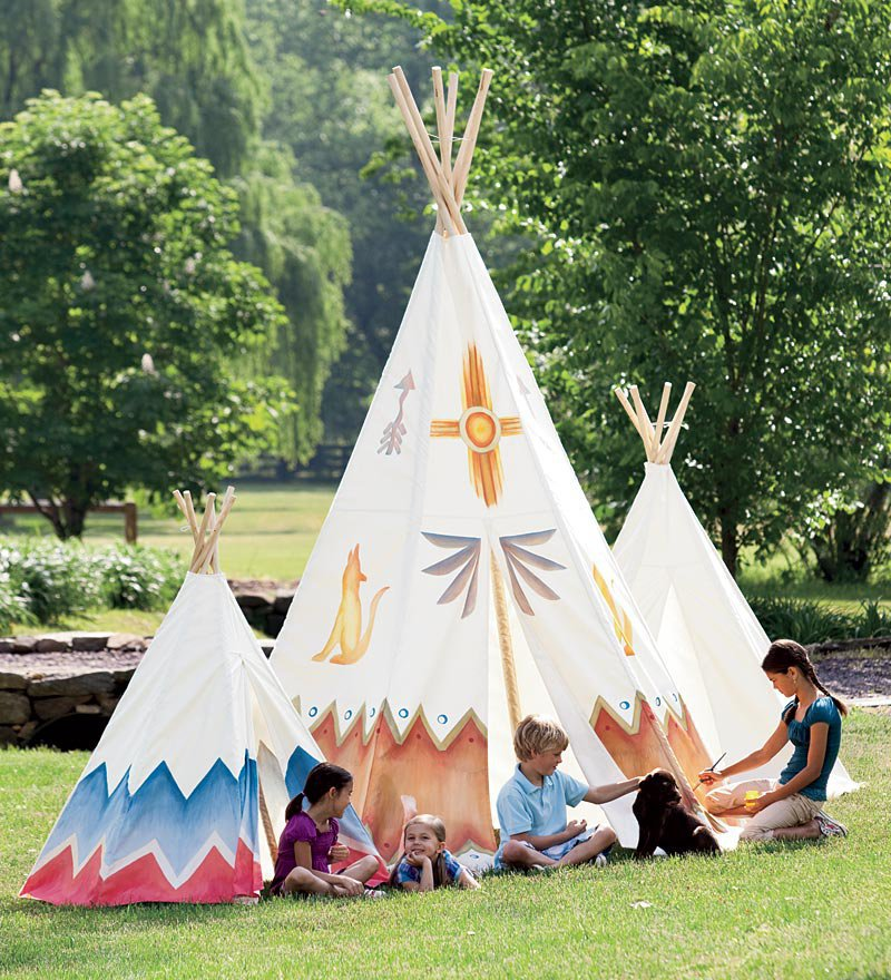 Children 39 S Teepees Canvas Teepees From For