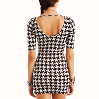 houndstooth bodycon