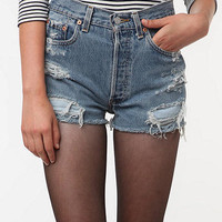 SALE 50% OFF LEVI'S Handmade High-wasited Denim shorts Urban Style