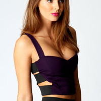Sophie Strappy Side Bralet Crop Top