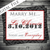 Marry Me...Today and Everyday Print Art