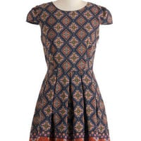 Call Them Like Museum Dress | Mod Retro Vintage Dresses | ModCloth.com