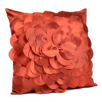 Orange Petal Pillow at Kirkland's