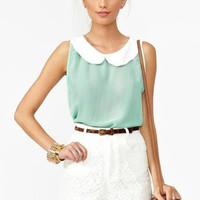 Sweet Chiffon Top