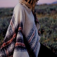 Free People Womens Legends Poncho