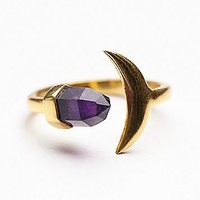Arrow Divine Womens Moon and Back Ring