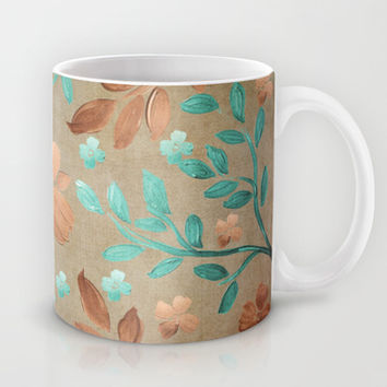 Copper Autumn Mug by Lisa Argyropoulos