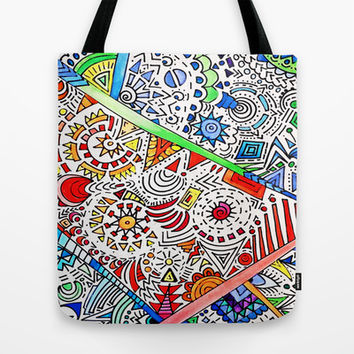 Surrounded Tote Bag by DuckyB (Brandi)