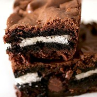 Sing For Your Supper » Oreo-Stuffed Brownies?