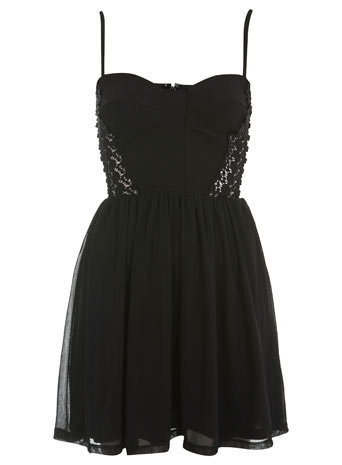 Petites Lace Corset Dress - Going Out Dresses - Dresses  - Apparel