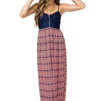 Catching Color Maxi Dress