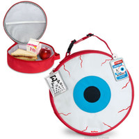 Eyeball Lunch Bag Cooler Lunch Box Zipper Insulated Novelty Food Storage School