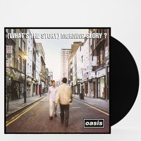 Oasis - (What's the Story) Morning Glory?) LP- Black One
