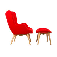 Paddington Deux Lounge Set in Atomic Red