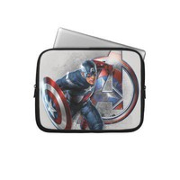 Captain America A 2 Laptop Sleeve from Zazzle.com