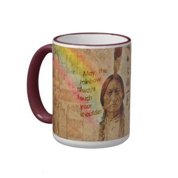 Native Indian Impressions Mug