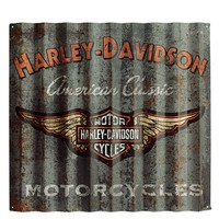 Harley-Davidson® Classic Corrugated Metal Sign 99217-14V