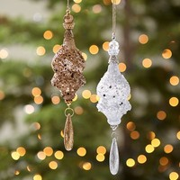 Sequin Tassel Ornaments