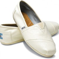 TOMS - Ivory Women&#x27;s Glitters